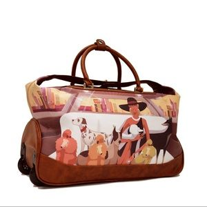 IN SEARCH OF THIS ROLLING DUFFLE